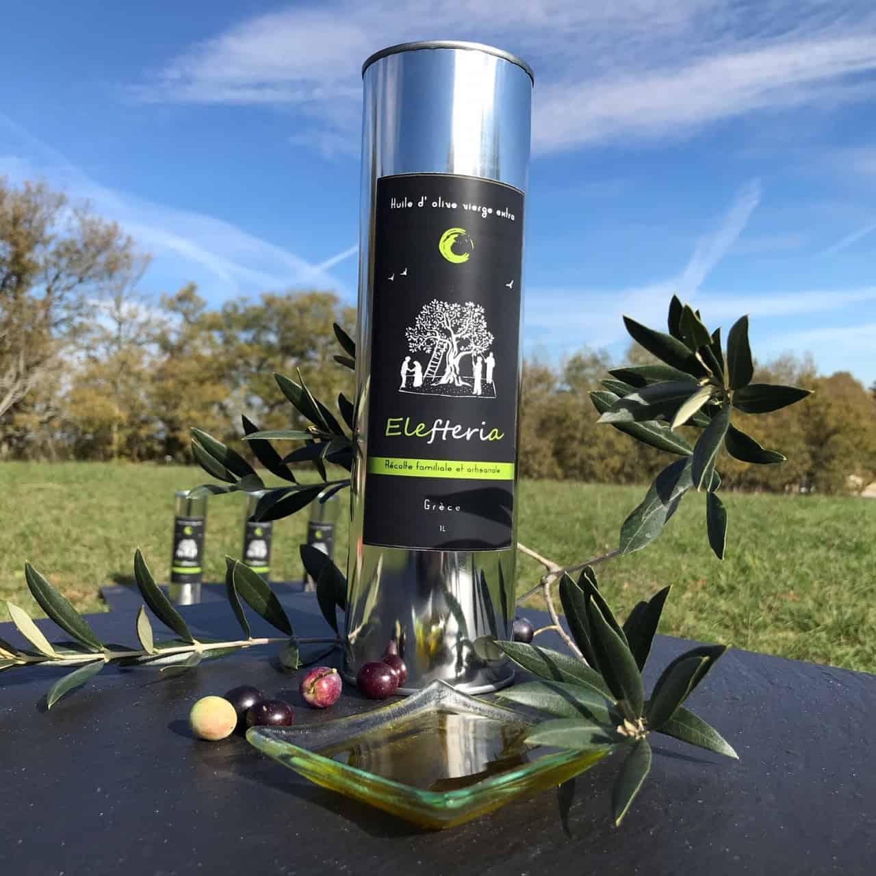 Elefteria-huile d'olive de Grèce