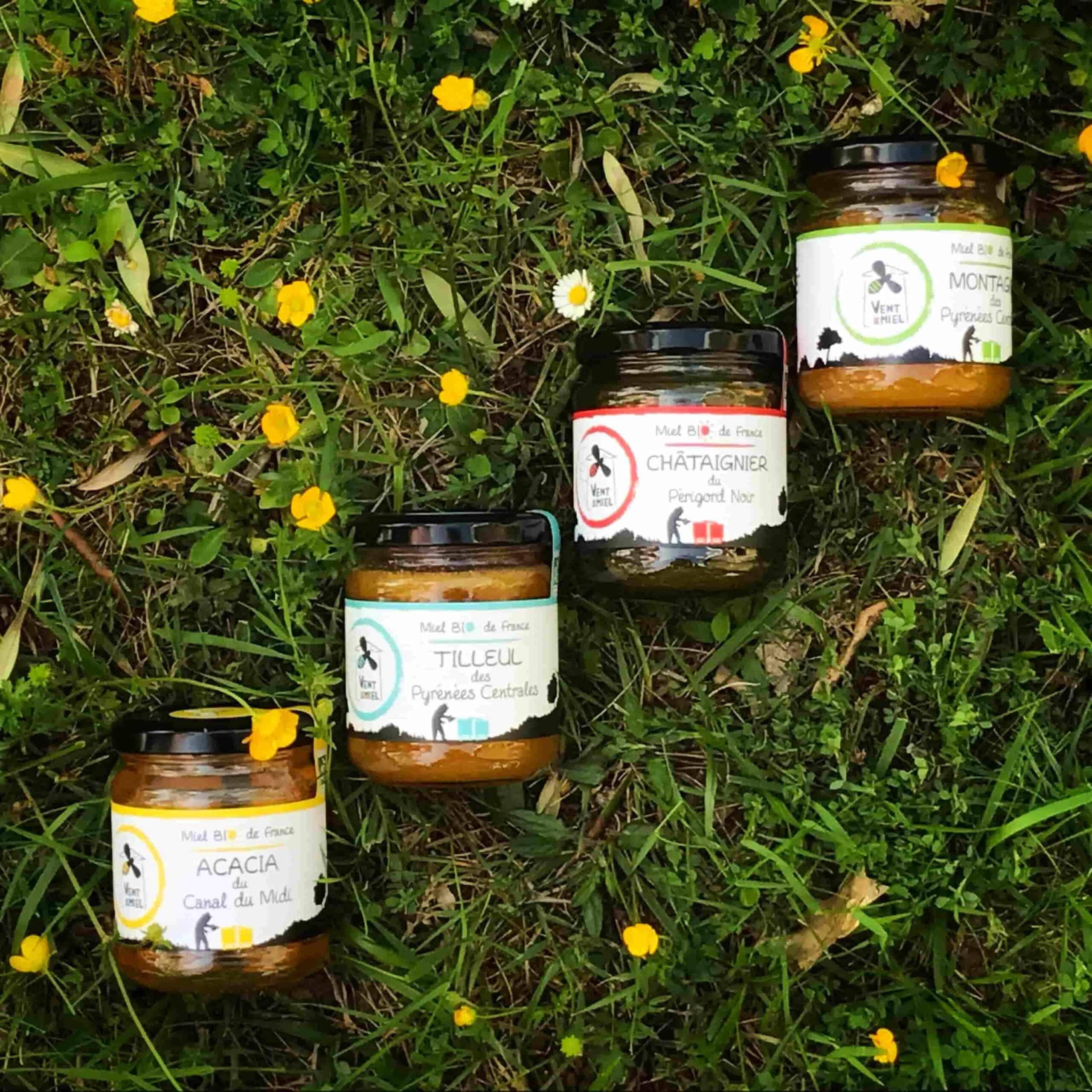 miel biologique Vent de Miel